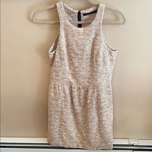 Zara Sleeveless Gold Dress Size Small